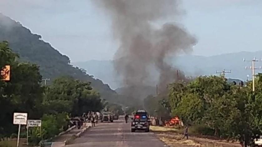 El Cártel Jalisco Nueva Generación se adjudicó el ataque.