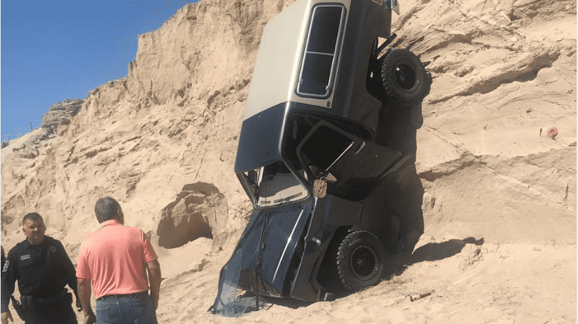 Accidente en el Golfo de Santa Clara deja un lesionado(Cortesía)