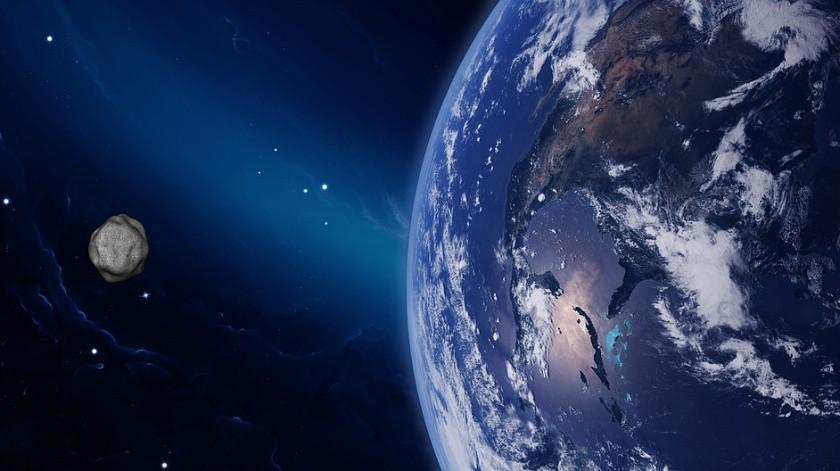 El asteroide se acercará a las 18:53 horas de hoy.(Ilustrativa/Pixabay)