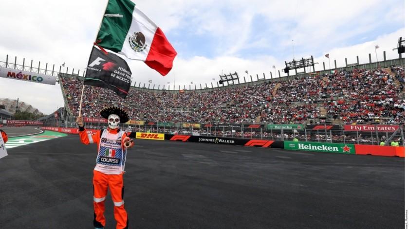 Por quinto año consecutivo, se agotan boletos para el GP de México.(Archivo)