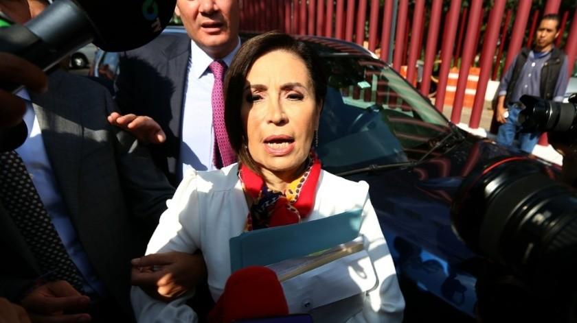 Rosario Robles se encuentra en el penal de Santa Martha Acatitla.