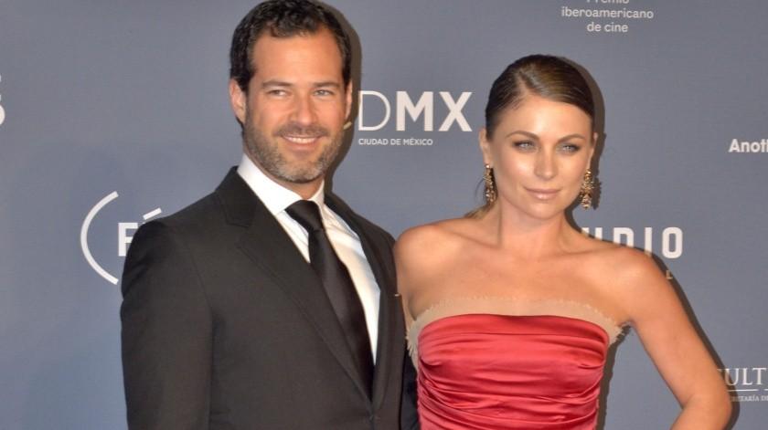 Ludwika Paleta y Emiliano Salinas, que llevan 7 años de matrimonio y han pasado por momentos muy complicados en los últimos meses.