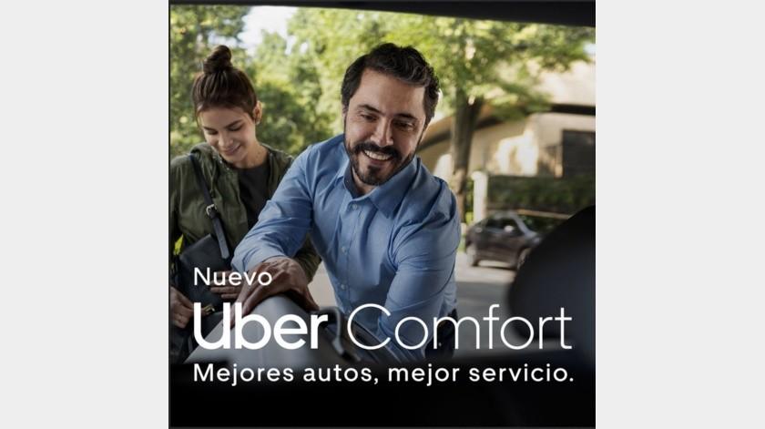 Conoce la experiencia de Uber Comfort.(Cortesía)