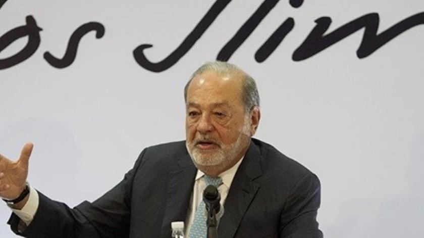 Carlos Slim estimó que la inflación va a bajar a la mitad.