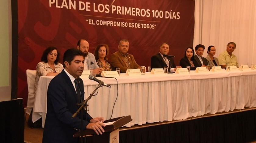 Armando Ayala Robles reafirmó su compromiso de trabajar de la mano con la sociedad.(Cortesía)