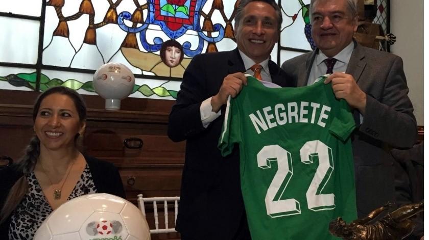 "Dan ""tijerazo"" a Negrete en proyecto de la 4T(GH)"