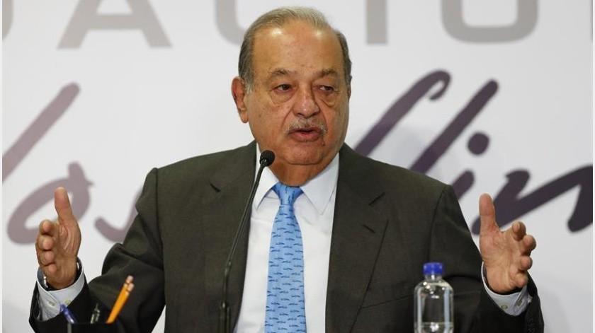 Slim precisó que la cartera de su Grupo Carso se concentrará en telecomunicaciones, donde invertirá unos 40.000 millones de pesos (unos 2.082 millones de dólares).(EFE)