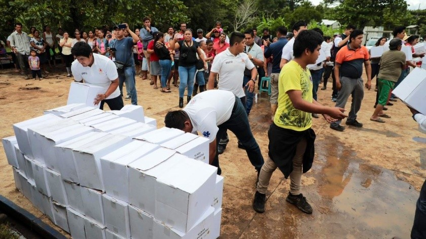 Solicitan declaratoria de emergencia en 12 municipios en Veracruz(Twitter @PCEstatalVer)