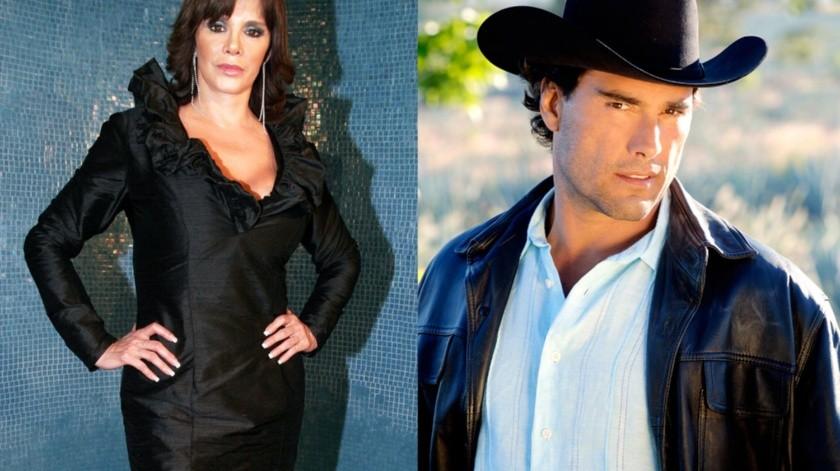 Lucía Méndez y Eduardo Yáñez.(Agencia México)