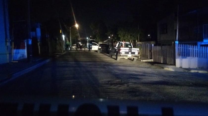 El ataque se registró minutos después de la medianoche.(Margarito Martínez)