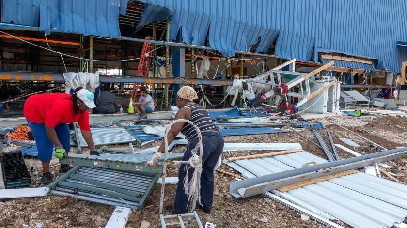 El huracán Dorian provocó daños materiales que rondan los 7.000 millones de dólares, según las estimaciones oficiales.(EFE, EPA)