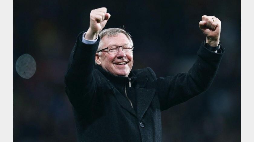 El ex director técnico dirigió al Manchester United por 27 años, de 1986 al 2013.(Twitter)