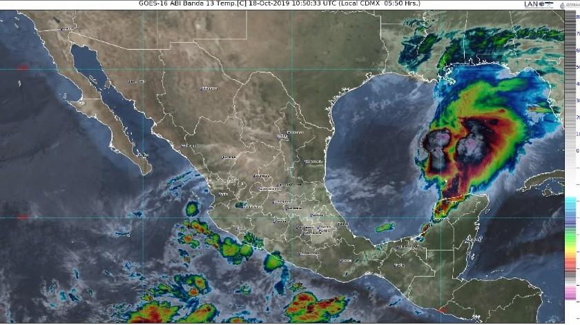 Fuertes lluvias para Nayarit y lluvias aisladas para Sonora