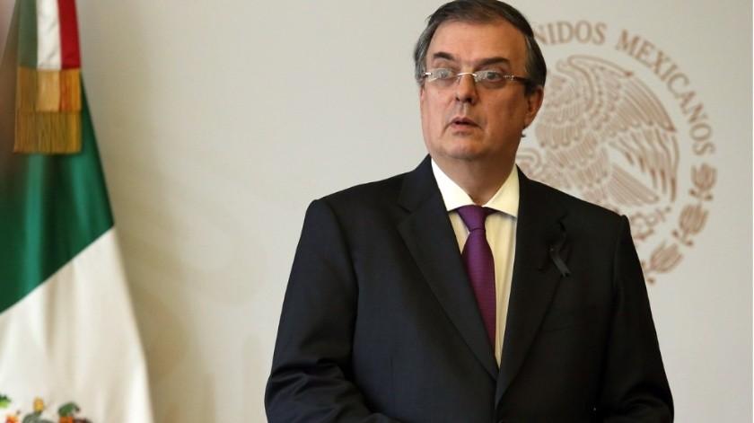 Marcelo Ebrard dijo que es momento de cerrar filas y apoyar a López Obrador.