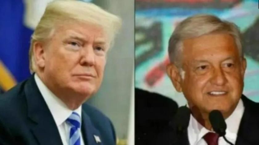 AMLO y Trump sostuvieron una llamada telefónica donde tocaron el tema de Culiacán, Sinaloa.