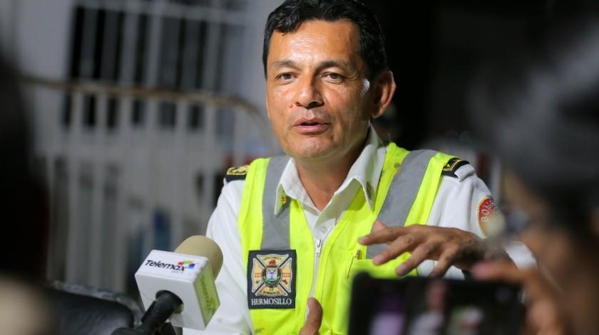 Jefe de bomberos informa avances de búsqueda de cuerpo en socavón(Julián Ortega)