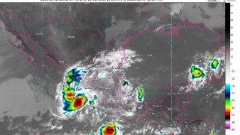 Durante las próximas horas, Priscilla ocasionará lluvias de intensas a torrenciales en regiones de Nayarit, Jalisco, Colima y Michoacán.