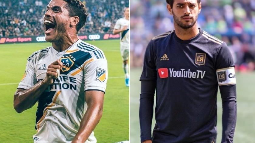 ¡Duelo mexicano por final de MLS! Jona dos Santos vs Carlos Vela(Instagram/  jona2santos y carlosv11_)