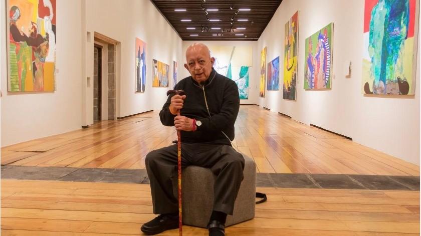 El homenaje al pintor, escultor y grabador Gilberto Aceves Navarro en el Palacio de Bellas Artes, se realizará mañana martes de 12:00 a 15:00 horas a petición de uno de los hijos del artista plástico.(Tomada de la red)