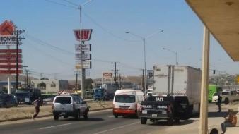 El retén se ubica en la carretera libre Tijuana- Tecate.