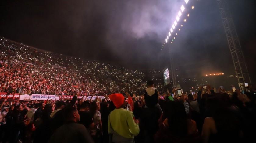La gira de conciertos de Bad Bunny se coloca entre las 20 más lucrativas del momento a nivel mundial.(Gustavo Suárez)