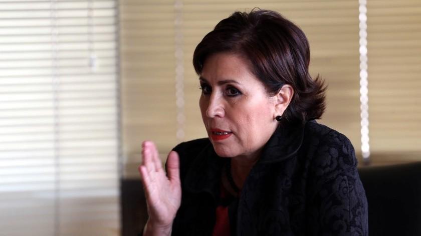 Rosario Robles, ex titular de Sedesol.