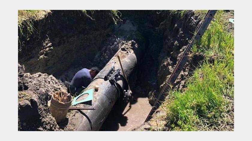 La CESPT argumenta bajos niveles en sus tanques, por lo que se nos dejaron de enviar los 130 litros de agua por segundo correspondientes a Ensenada provenientes de dicha fuente.(Cortesía)