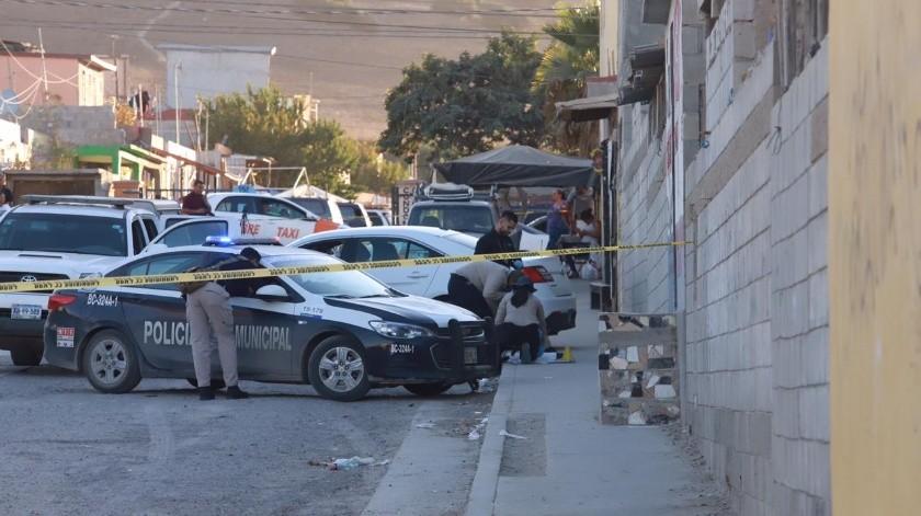 Un cráneo humano fue abandonado sobre la calle Arroyo Verde de Delicias I, el hallazgo fue reportado por vecinos fue la tarde de este lunes.(Gustavo Suárez)