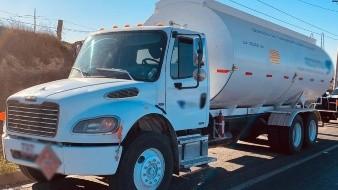 El decomiso se realizó en el kilómetro 015+700 de la carretera Tijuana-Ensenada, tramo Tijuana-Rosarito.