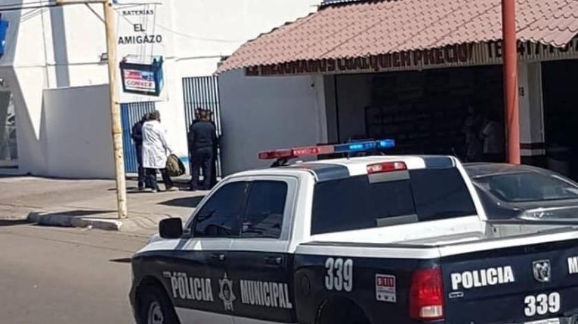 El hombre fue ultimado a tiros en el estacionamiento de un banco ubicado en la colonia Centro.