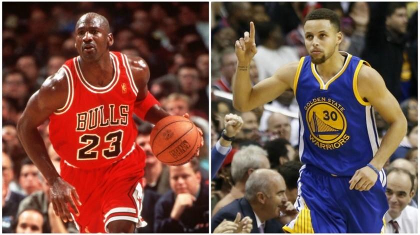 La máxima figura del baloncesto opinó que Stephen Curry no es digno de ser inmortalizado al terminar su carrera.(Twitter)