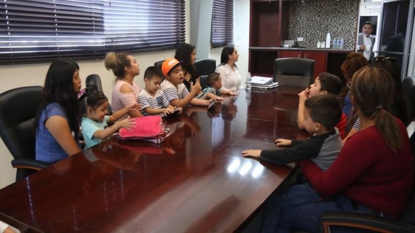 Madres de familia exigen la apertura de la guardería de Estación Delta(Daniel Resendiz)
