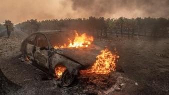 Un año más tarde el fuego denominado Campfire prácticamente incineró la ciudad de Paradise.