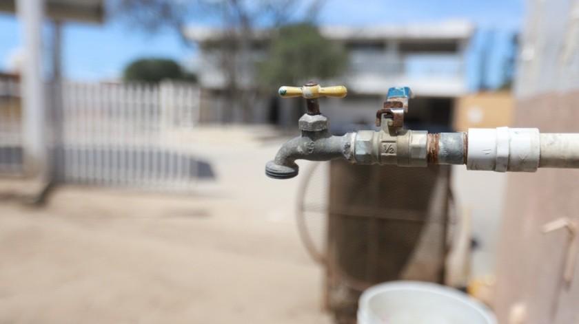 Los residentes argumentan que la Cespt les avisó de último momento del corte de agua.