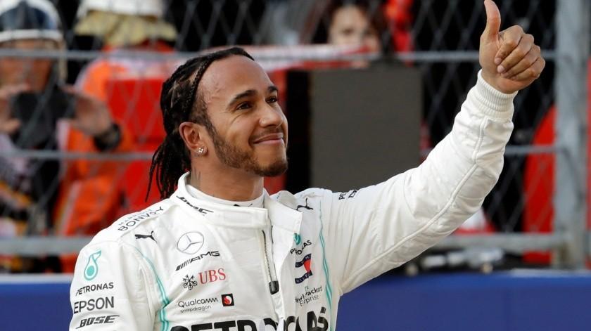 Lewis Hamilton fue el más veloz en la primera sesión de las prácticas libres.(AP)