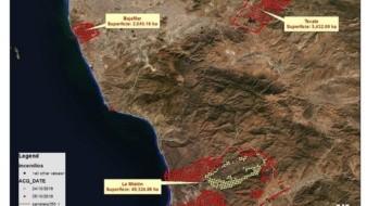 Quemaduras superficiales: afectaciones en salud registradas por incendios forestales