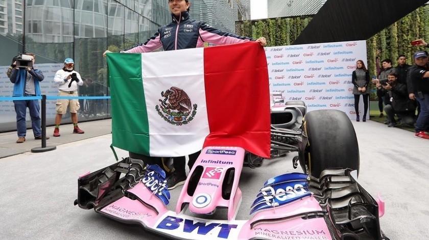 El mexicano admitió que le costó trabajo adaptarse a la pista, sobre todo en la práctica matutina.(Instagram)