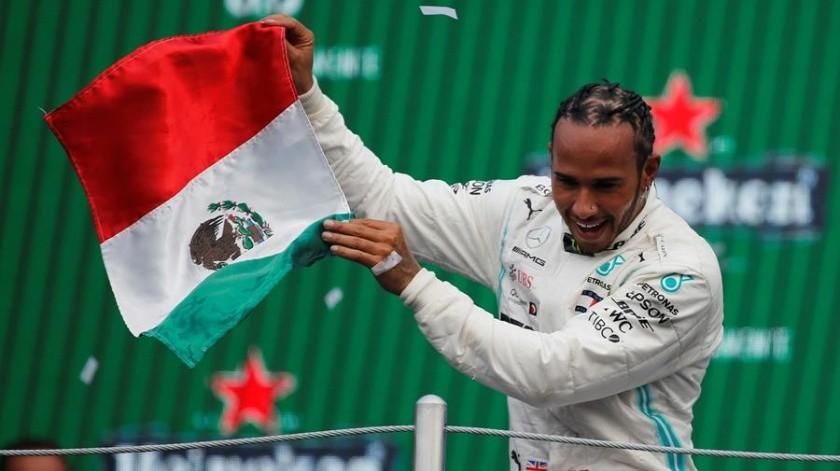 El Gran Premio de México tuvo una asistencia de 345 mil 694 espectadores durante el fin de semana.(EFE)