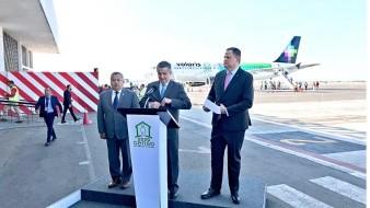 Operaría Volaris en aeropuerto de Santa Lucía