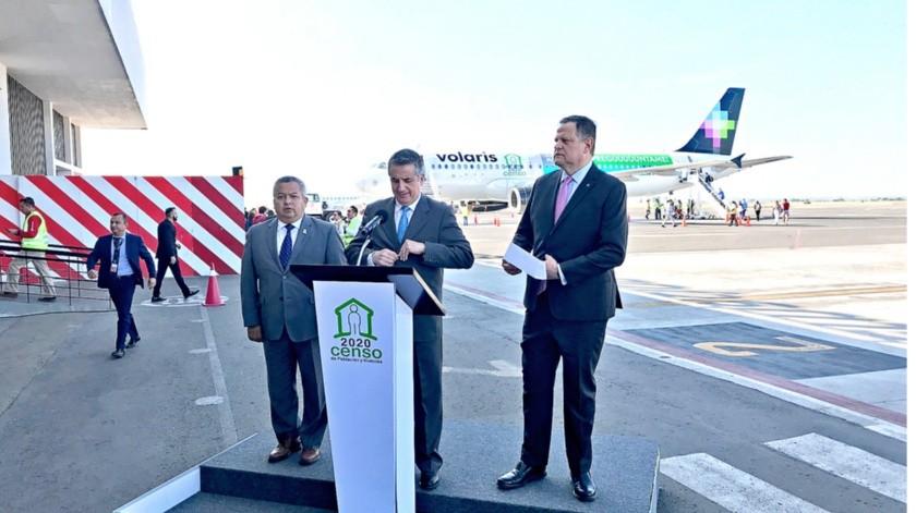 Volaris ya conoce el plan maestro del Aeropuerto Internacional de Santa Lucía y no descarta operar en este lugar si las condiciones se dan, dijo Enrique Beltranena, director general de la aerolínea.(Agencia Reforma)