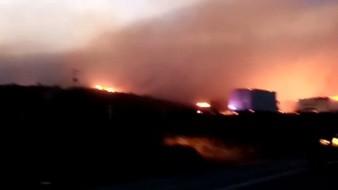 Este es el único incendio que se ha reportado hoy en Rosarito.
