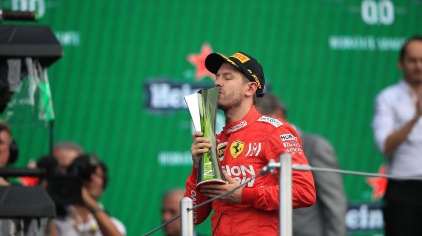El alemán tuvo comentarios sobre algunos aspectos de la organización de la competencia realizada el pasado fin de semana en el Autódromo Hermanos Rodríguez.(Twitter)