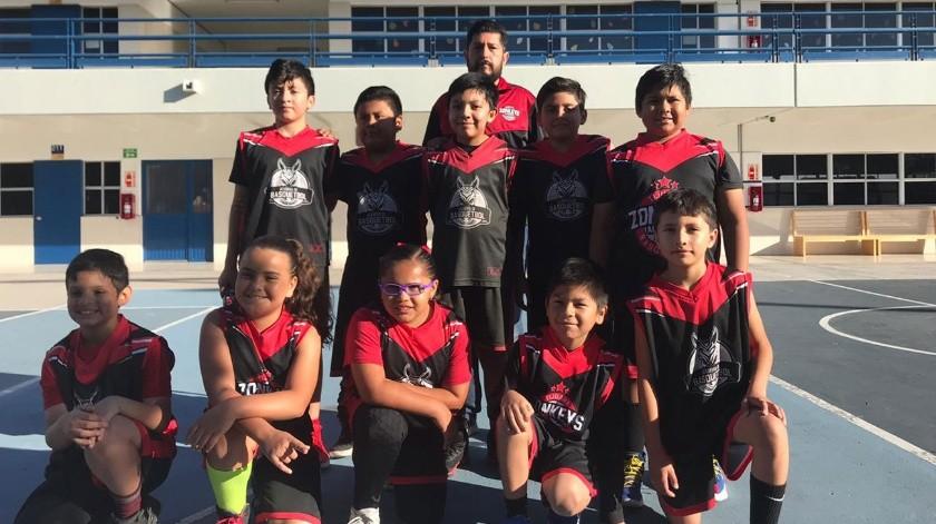 La Academia Zonkeys fue creada por el equipo profesional de baloncesto Tijuana Zonkeys.(Cortesía)