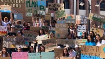 Jóvenes de Fridays for Future exigirán a legisladores más recursos p ara el tema ambiental