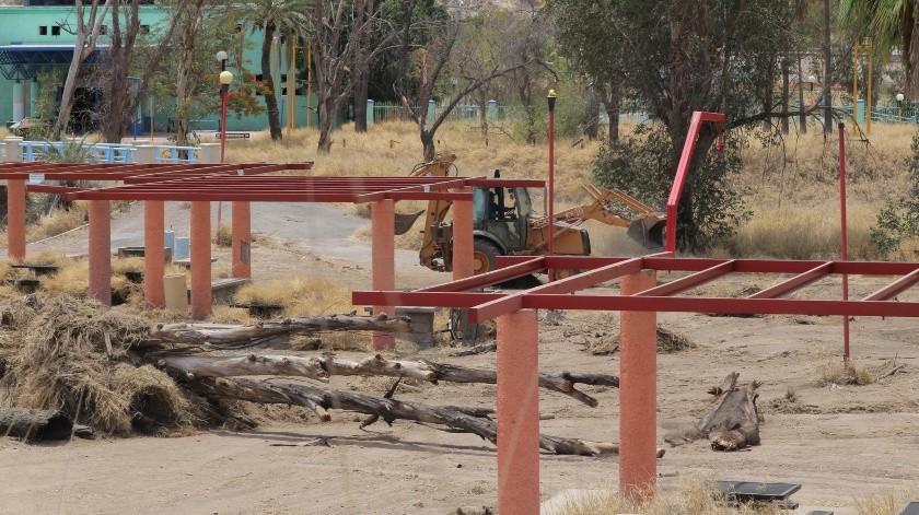 El proyecto involucrará al sector público y privado; va encaminado a rescatar y reactivar el área del parque recreativo La Sauceda.(Anahí Velásquez)