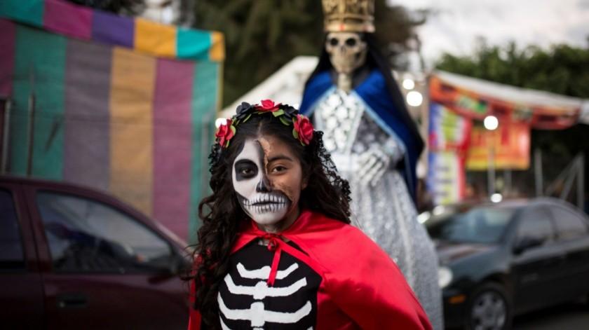 Incluso se afirma que esta fiesta de algarabía se practicaba en el Oaxaca colonial bajo las reservas de no ridiculizar la religión católica que ahora no es impedimento para los danzantes.(EFE)