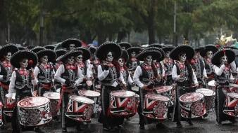 Desfile de Día de Muertos en CDMX
