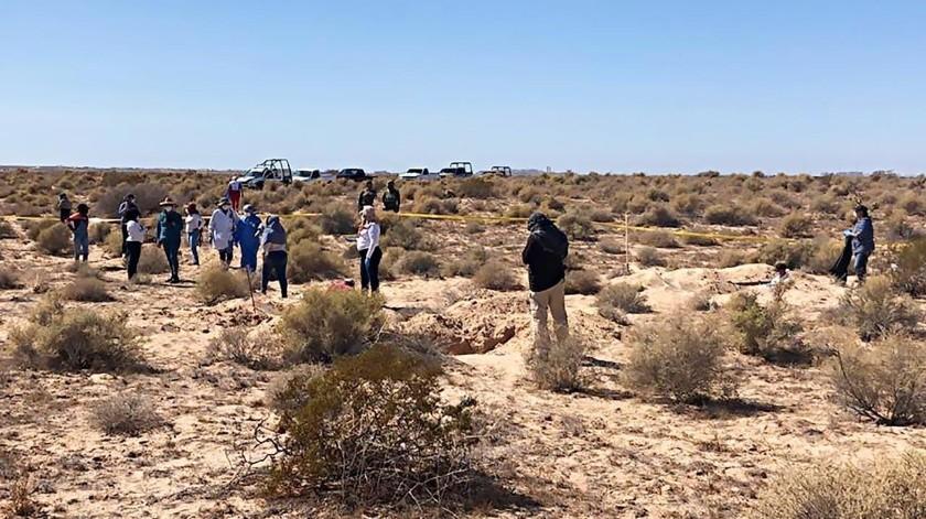 La localización fue realizada por parte del Colectivo Madres Buscadoras de Sonora.(El Imparcial)