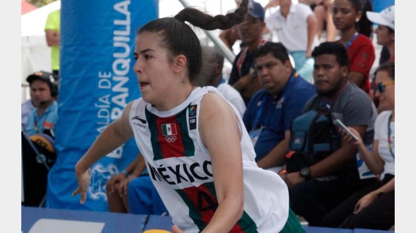 Karina Esquer es una recurrente seleccionada nacional.(Twitter)