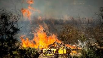 Trump podría recortar fondo para incendios en California